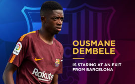 Ousmane Dembele 's exit from Barcelona